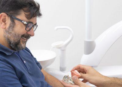 Paciente antes de un implante